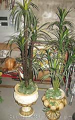 Artificial Palm Tree Plants Large with Ceramic Decorative Planters - B