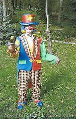 Adult Large Clown Costume Hat Wig & More - B