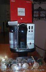 NESPRESSO LATISSIMA CAPPUCCINO MAKER & COFFEE :-)