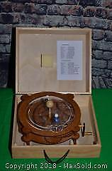 Wooden Orrery/Mechanical Model
