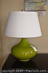 Table Lamp And Decor A