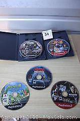Five Playstation 2 Games - A