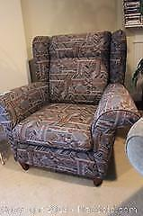 Upholstered Chair. C