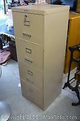 Four Drawer Metal File Cabinet -C