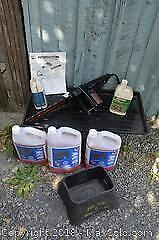 Electric Saw And Antifreeze A