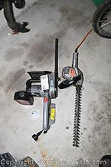 Hedge Trimmer And Chain Saw - A