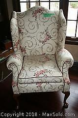 Wingback Chair - A