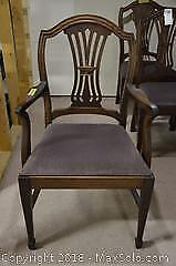 3 Vintage Dining Chairs C