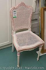 Cane Back And Seat Chair B