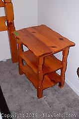 3 Pieces Handmade Wood Bedroom Set C