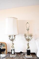 Pair Of Lamps - A
