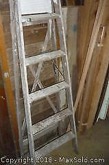 6' step ladder. -A