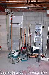 Garden Tools And Ladder - B