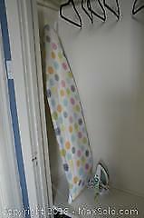 Ironing Board And Iron A