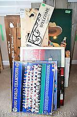 Sports Prints Front Porch Wood Signs and More B