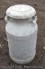 Old Milk Can - B