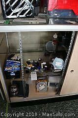 Contents Of Display Case B