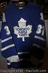 NHL Licensed Autographed Curtis Joseph Jersey B