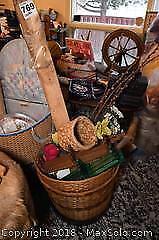 Faux Flowers And Plant Pots B