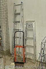 Ladders and Dolly. A