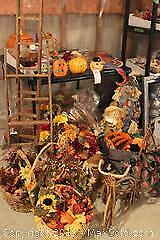 Fall Decor And Card Table. C