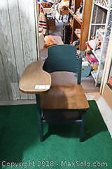 Reproduction School Desk B