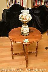 Table And Lamp. A