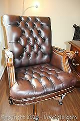 Stanley Furniture Executive Office Chair B