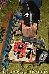 Vintage Camera And Movie Equipment B