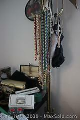Coat Rack and Jewellery A