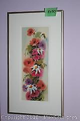 2 Framed And Matted Kai Riis Watercolours