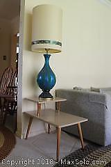End Table And Lamp. B