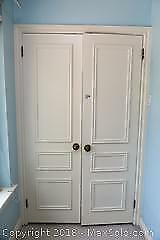 Closet Doors and Contents C