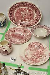 Vintage Collection Of Pink Dishes C