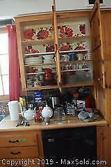 Dishes And Small Kitchen Appliances A