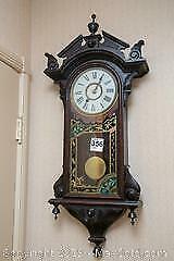 Antique Pendulum Clock A