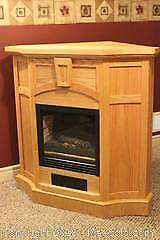 Electric Fireplace. C
