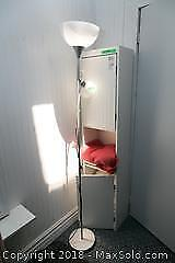 Floor Lamp and Cabinet - B