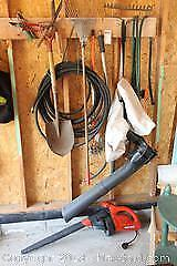 Leaf Blower and Garden Tools