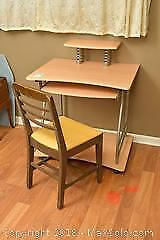 Desk And Chair. C