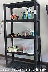 Shelf And Contents. A