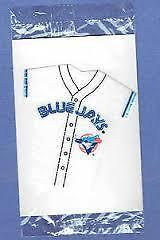 """BLUE JAYS MINIATURE SHIRTS """"KELLOGGS CERIAL"""" ONLY 1$ EACH!!!!!!!"""