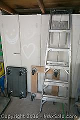 Aluminum ladder and Dolly C