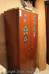Metal Cabinet. C
