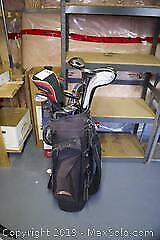 Golf Bag And Clubs A