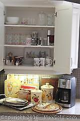 Coffee Maker, Serving Tray. A