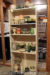 Vases And Shelf Unit. B