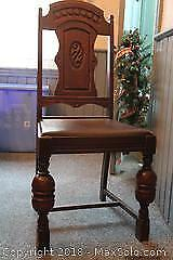 National Table Company Dining Chairs. C