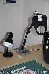 Task Lamp And Desk Lamp- A