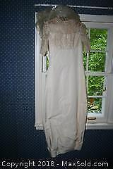 Antique Wedding Dress - B